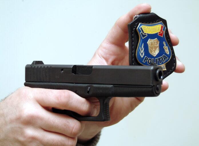 Un sofer a fost împuscat de politisti, in judetul Iasi