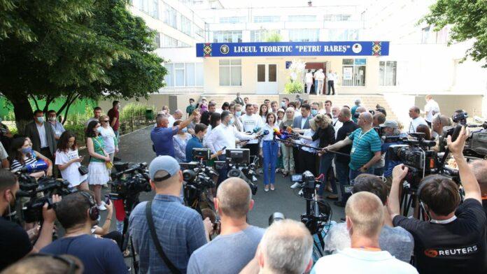 Rezultate alegeri anticipate Republșica Moldova