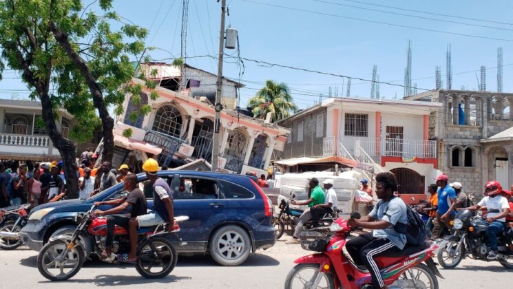 Cutremur devastator in Haiti! Sunt sute de victime
