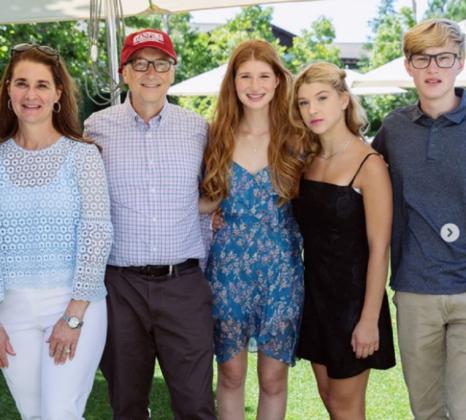 Familia lui Bill Gates