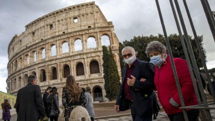 Italia, lovita de valul 4 al pandemiei de coronavirus