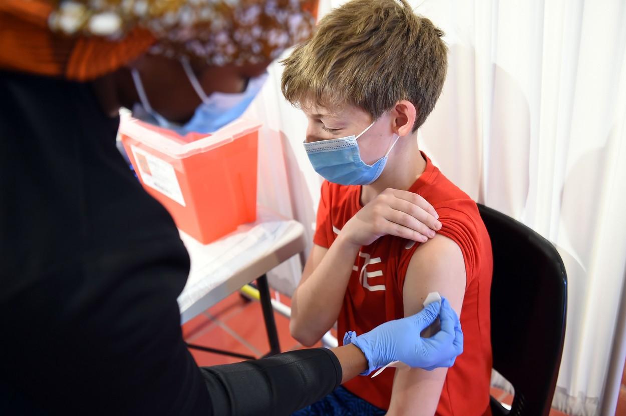 SUA vrea sa inceapa vaccinarea copiilor sub 12 ani