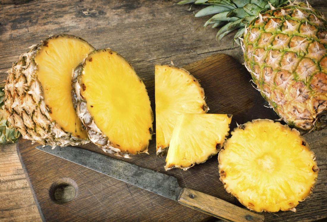 Ananasul poate fi considerat un fruct minue datorita multiplelor beneficii